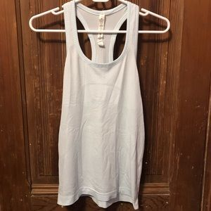 Lululemon Swiftly Tank, Light Blue, Sz 6